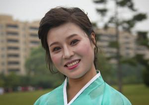 A state singer - Pyongyang North Korea