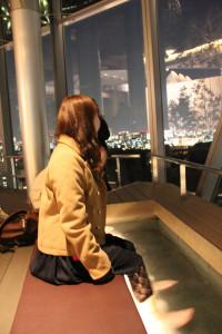 Ashiyu on the top floor