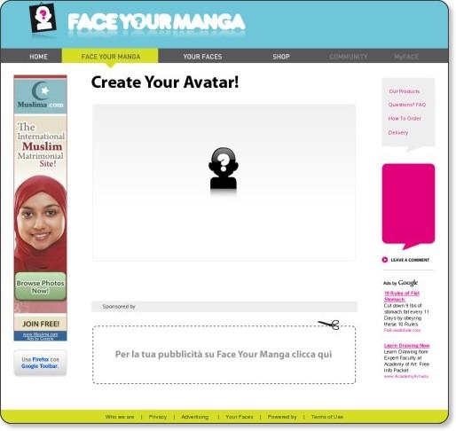 FaceYourManga.com | Shake Yourself!