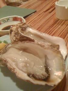 Fresh Oysters, Izakaya Amimoto, Nigiata