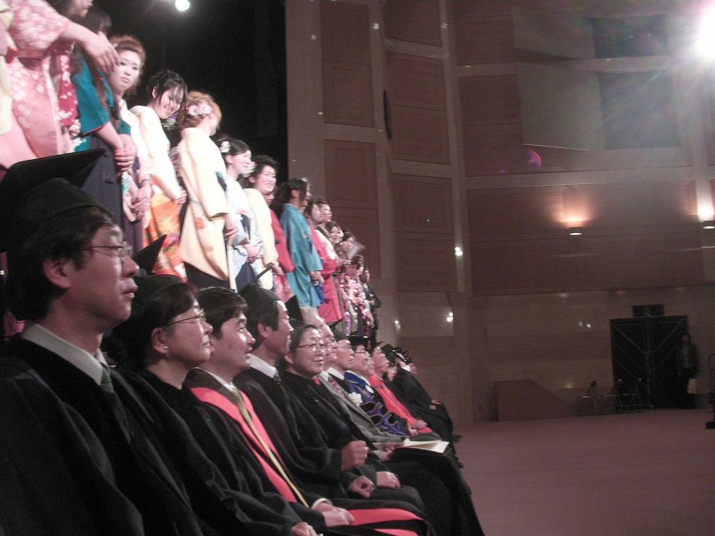 Graduation Ceremony, Keiwa College, Niigata