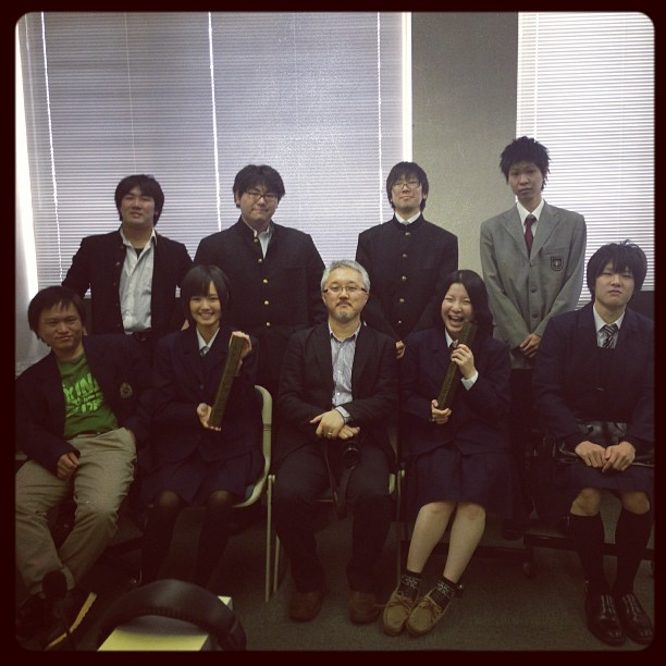 Ichinohe Seminar Group Photo 20121212 #keiwa