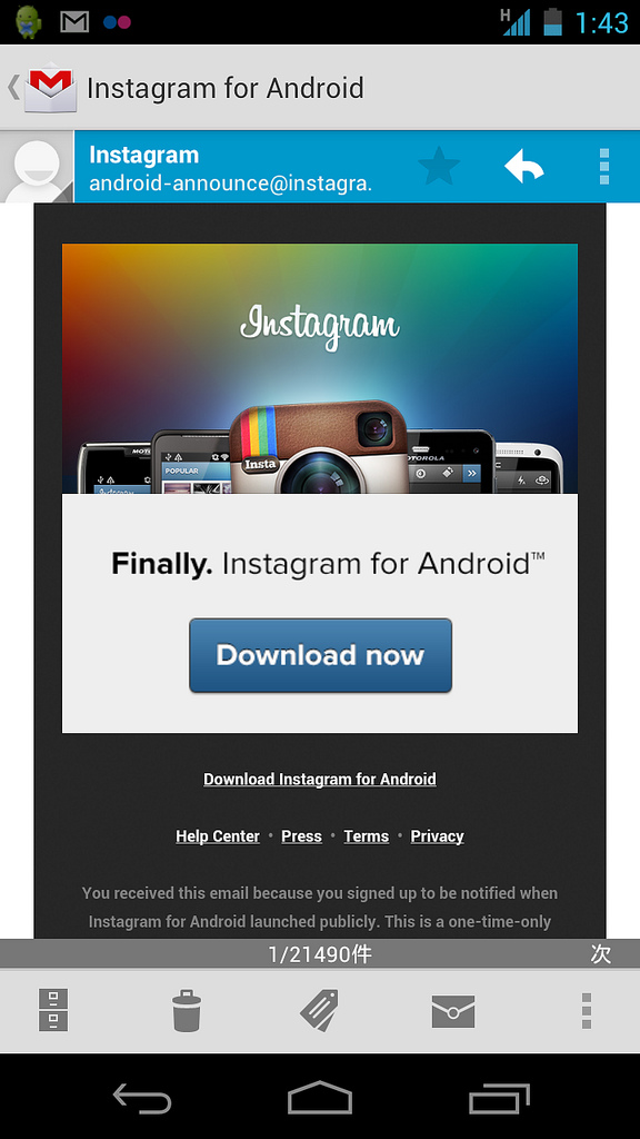 Instagram Android_001