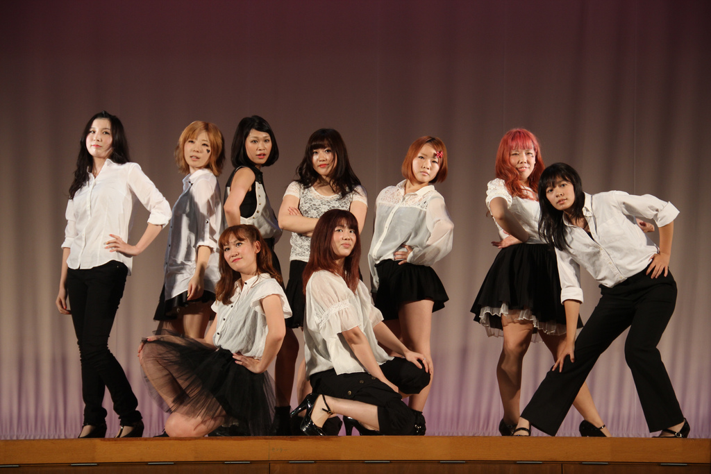 国際ダンスサークル / International Dance Club, Keiwa College Festival 20121021