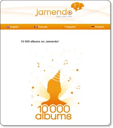 Jamendo Blog » Blog Archive » 10 000 albums on Jamendo!