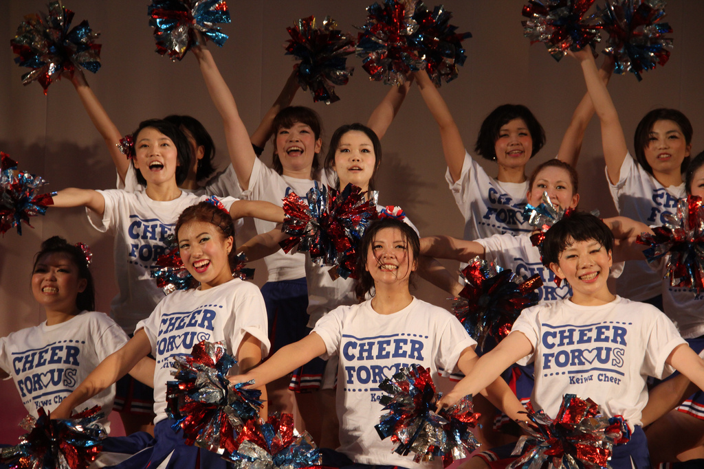 Keiwa Cheerleaders, Keiwa College Festival 20121021