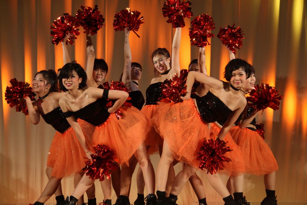 Keiwa Cheerleaders, Keiwa College Festival 20121021