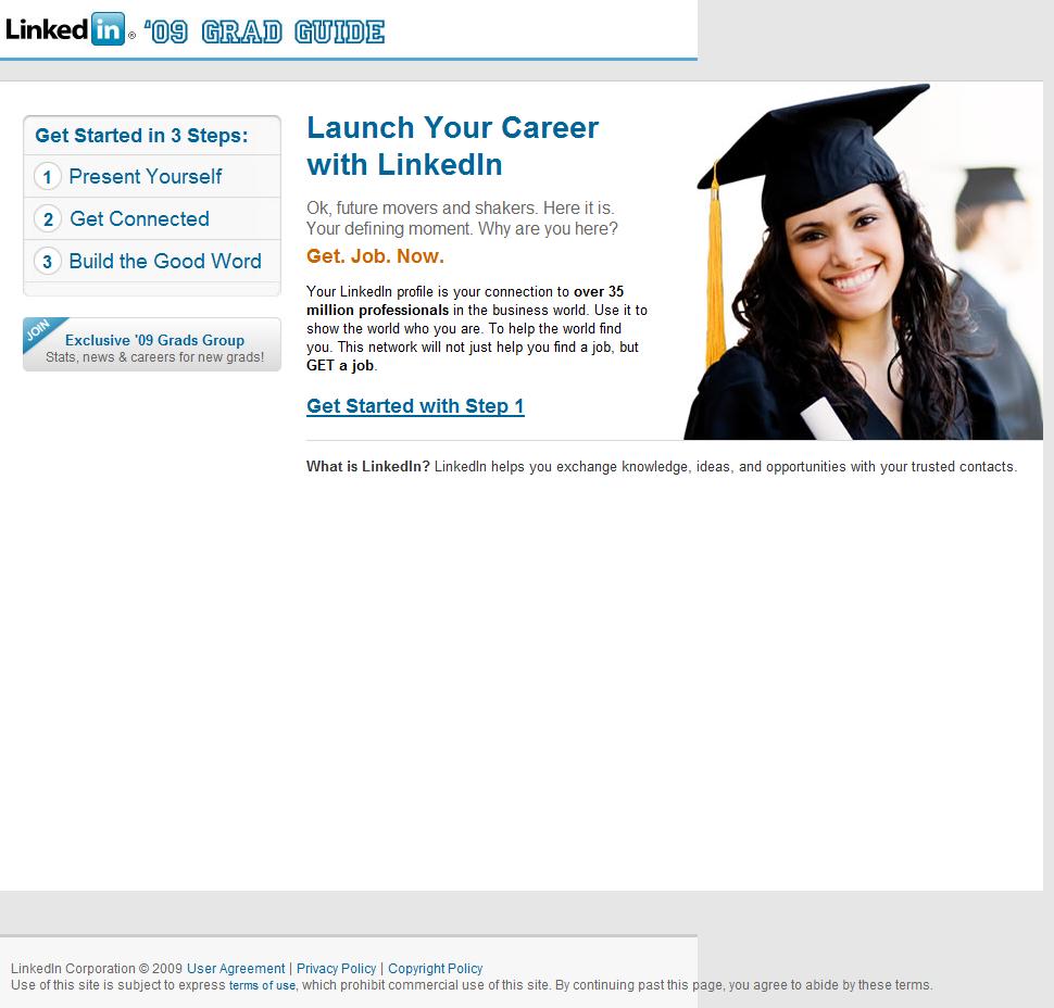 LinkedIn '09 Grad Guide