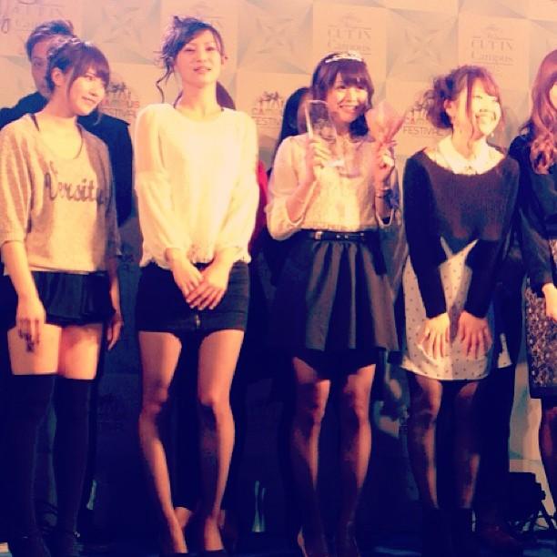 Miss Cut in Campus, 高井さん優勝おめでとう。 #niigata   #keiwa