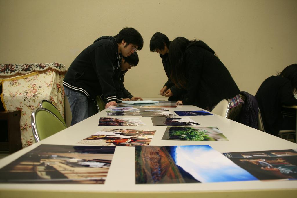 Niigata Photowalk Exhibition in Keiwa College, Shibata
