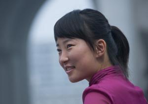 North korean smile - Pyongyang North Korea