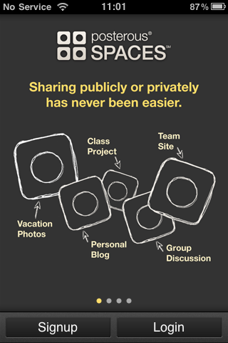 Posterous Spaces App