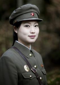 Revolutionary site of Chongbong guide - North Korea