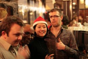 Stef, Berhane, Joy and Dan