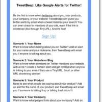 Twitter Alerts - TweetBeep.com