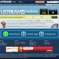 Ustream Mobile Application