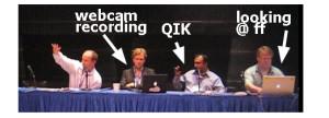 Webcam, QIK and Friendfeed