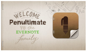 Welcome Punultimate to the Evernote Family