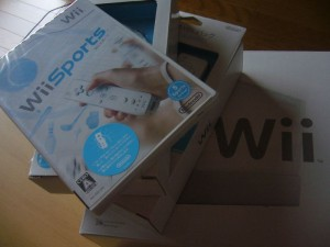Wii has come to my room.