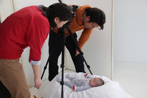 長女の生後100日写真をStudio Roopで撮ってもらった