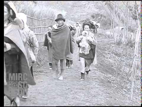 1930年の桃園復興郷の映像(日本統治時代の台湾)