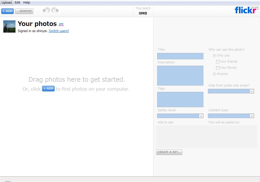 Flickr Uploadr 3.0 Beta