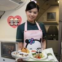 Flight attendant of EVA AIR