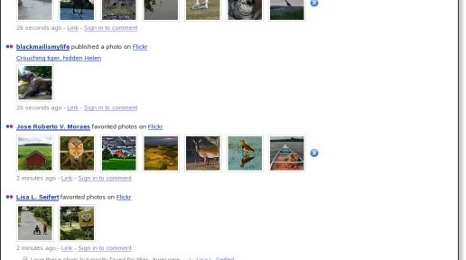 FriendFeed - Flickr items
