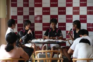 敬和学園大学オープンキャンパス / Keiwa College Open Campus 20120902