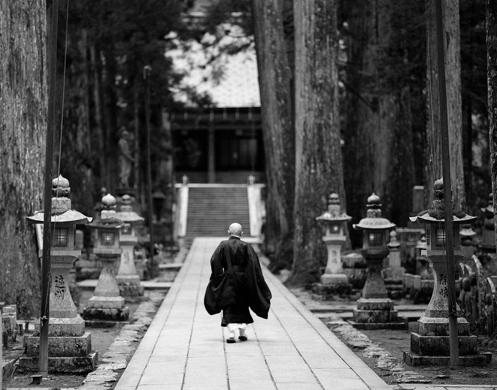 Monk heading to Gobyo