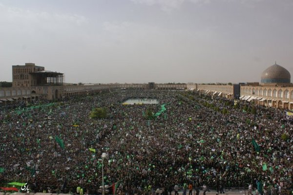 Naghshe Jahan Sq / Esfehan / IRAN #iranelection on Twitpic