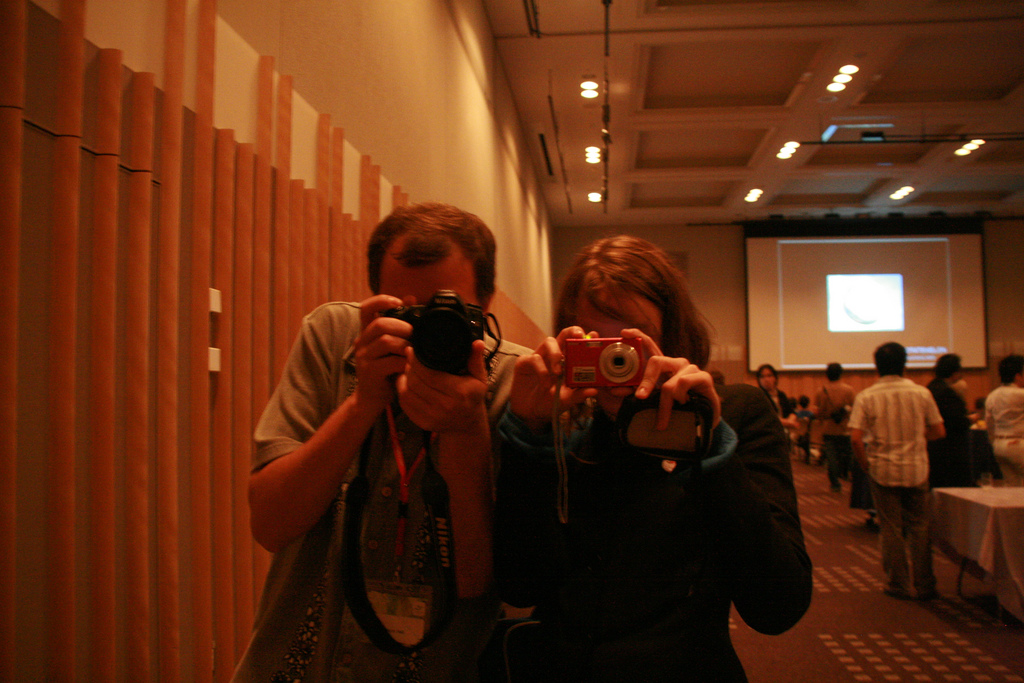 Photographers in iSummit 2008