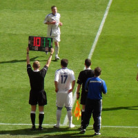 Substitution - FA Carlsberg Vase Final 2009 - Glossop North End v Whitley Bay