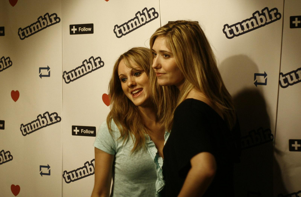 Tumblr party photo booth