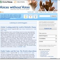 Voices without Votes | Americans vote. The world speaks.